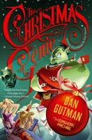Book cover: The Christmas Genie by Dan Gutman.